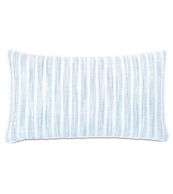 Castaway Seersucker Decorative Pillow