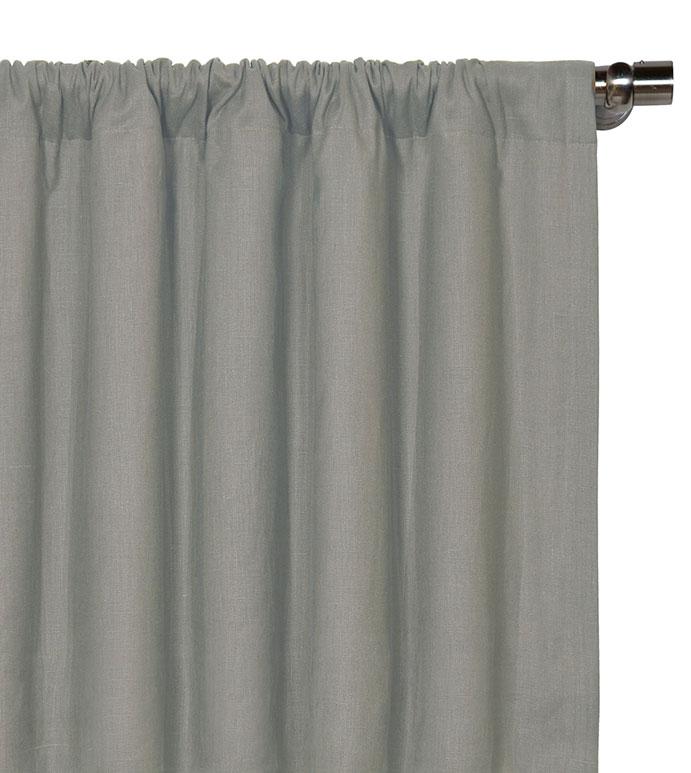 Breeze Slate Curtain Panel - ,