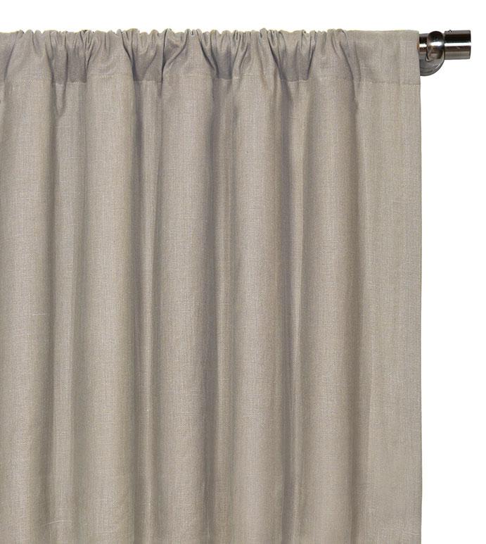 Breeze Stone Curtain Panel - ,