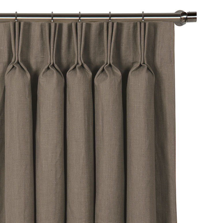 Breeze Clay Curtain Panel - ,