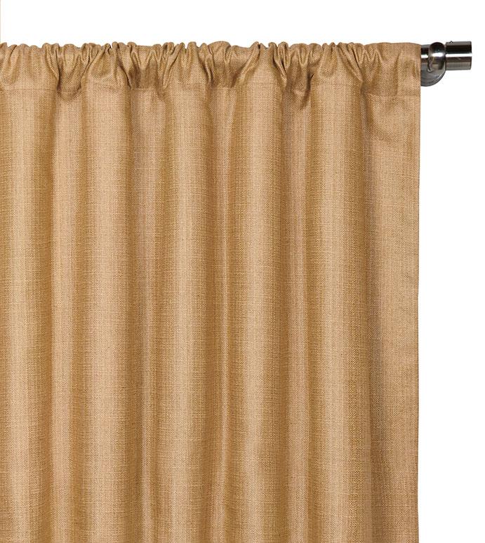 Meridian Cashew Curtain Panel - ,
