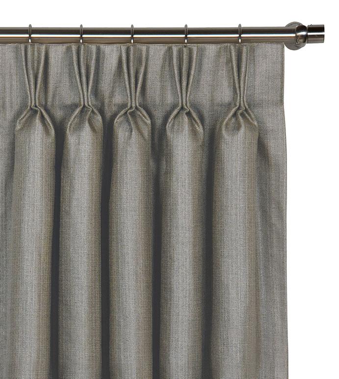 Meridian Slate Curtain Panel - ,