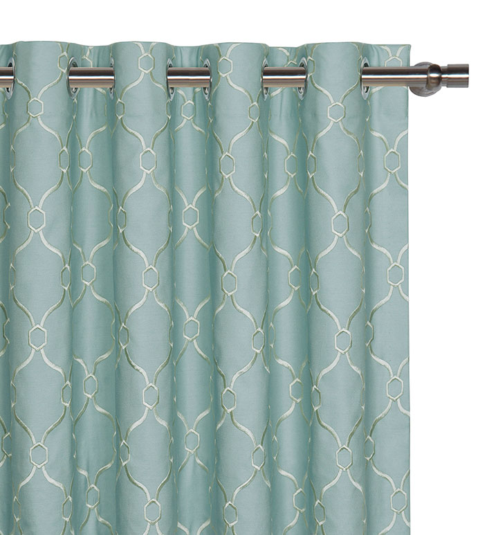Theodore Spa Curtain Panel - ,