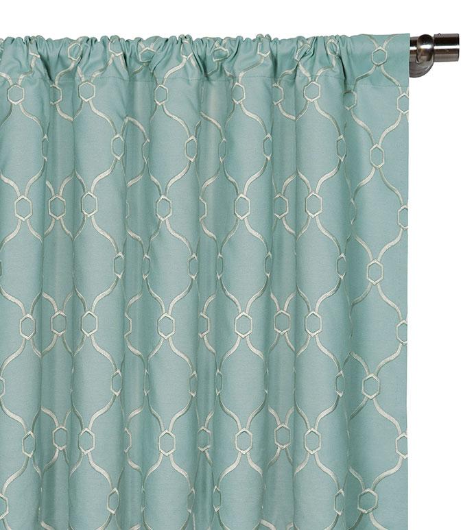 Theodore Spa Curtain Panel - ,