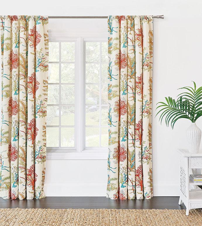 Maldive Curtain Panel