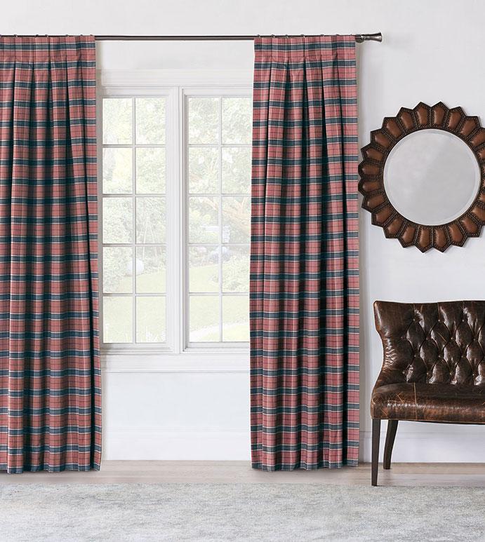 Kilbourn Plaid Curtain Panel