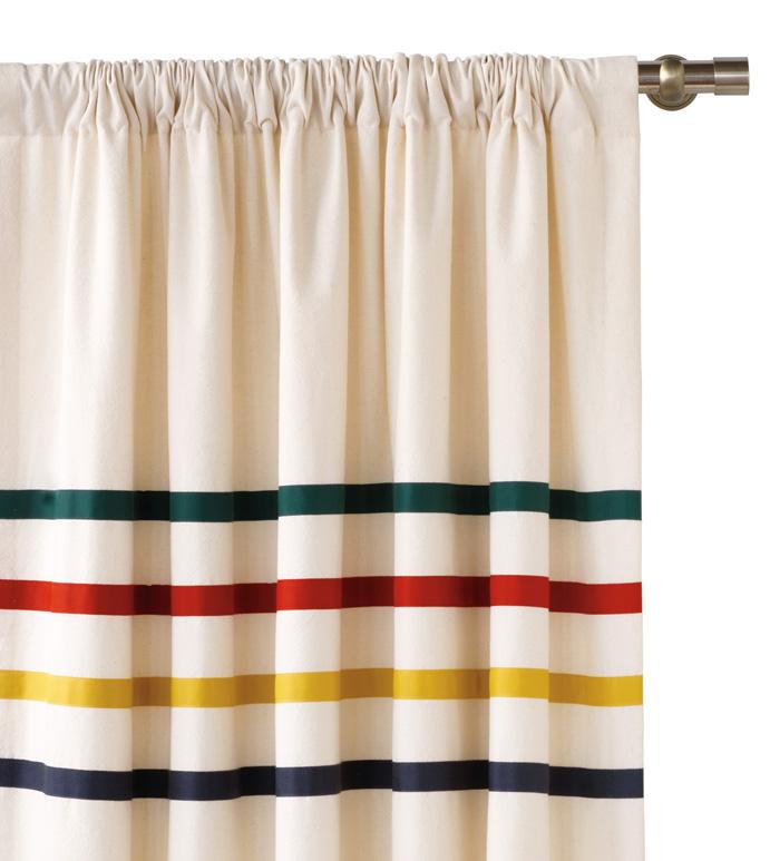 Murray Natural Curtain Panel