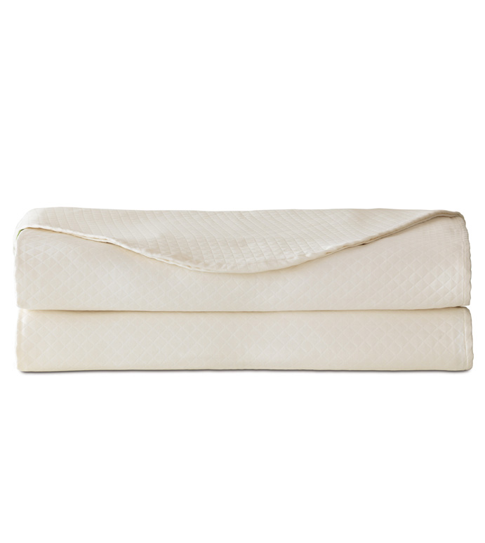 Matera Ivory Coverlet