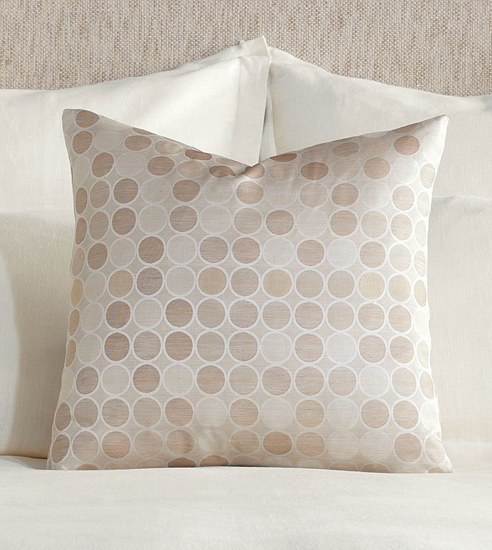 Adrienne Jacquard Decorative Pillow - ,