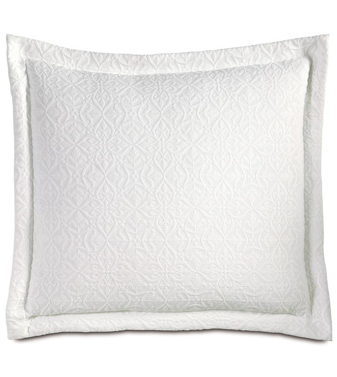 Mea White Decorative Pillow - ,