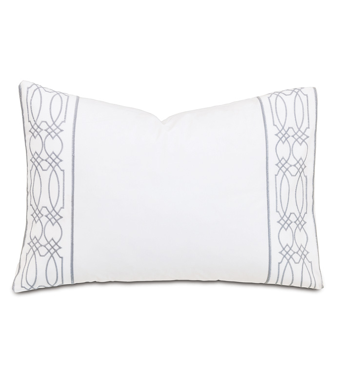 Nicola Gray Oblong Accent Pillow - ,