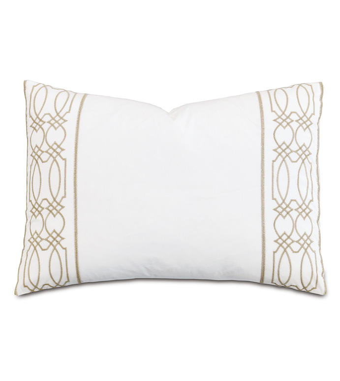 Nicola Wheat Oblong Accent Pillow - ,