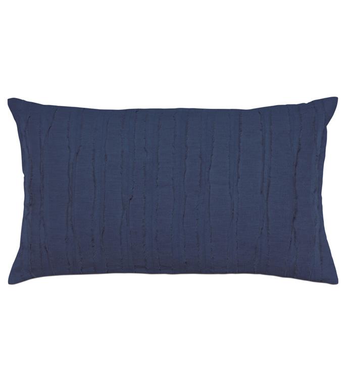 Shiloh Indigo Oblong Decorative Pillow - ,