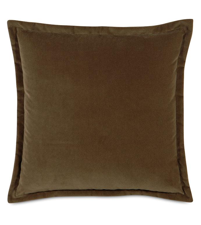 Jackson Mocha Dec Pillow A - ,