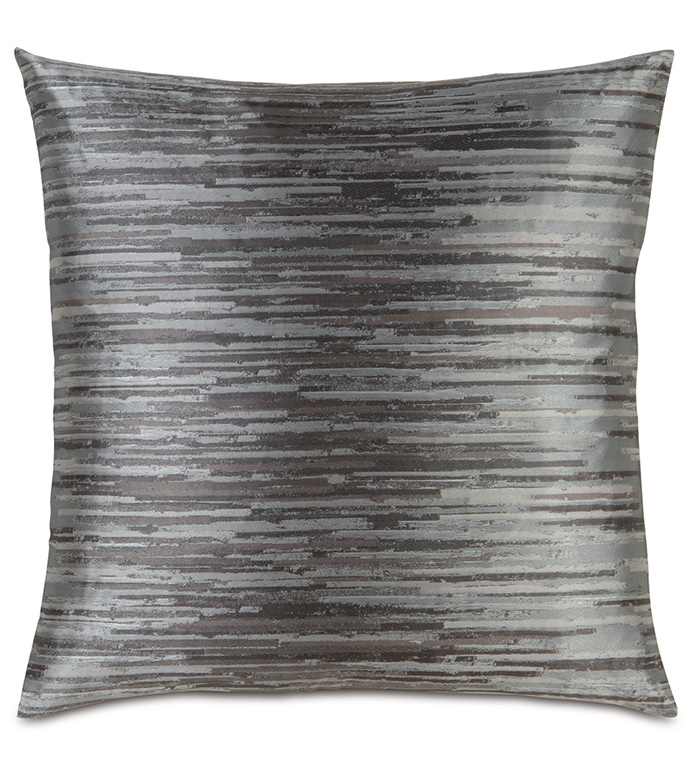 Horta Pewter Accent Pillow - ,