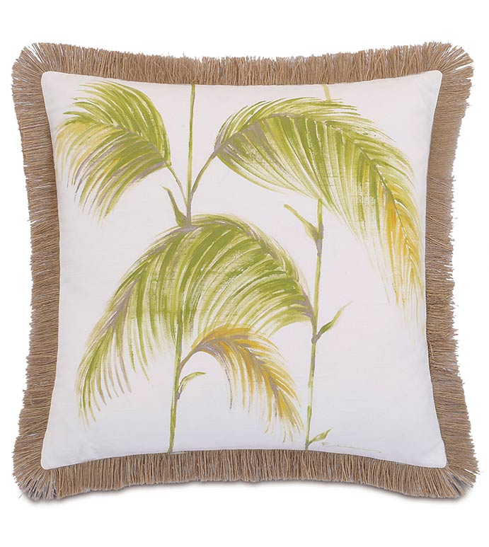 Hand-Painted Palm Leaves - ,