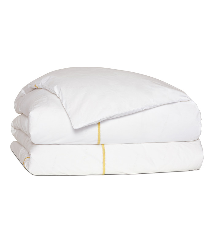 Gala Lemon Duvet Cover - ,