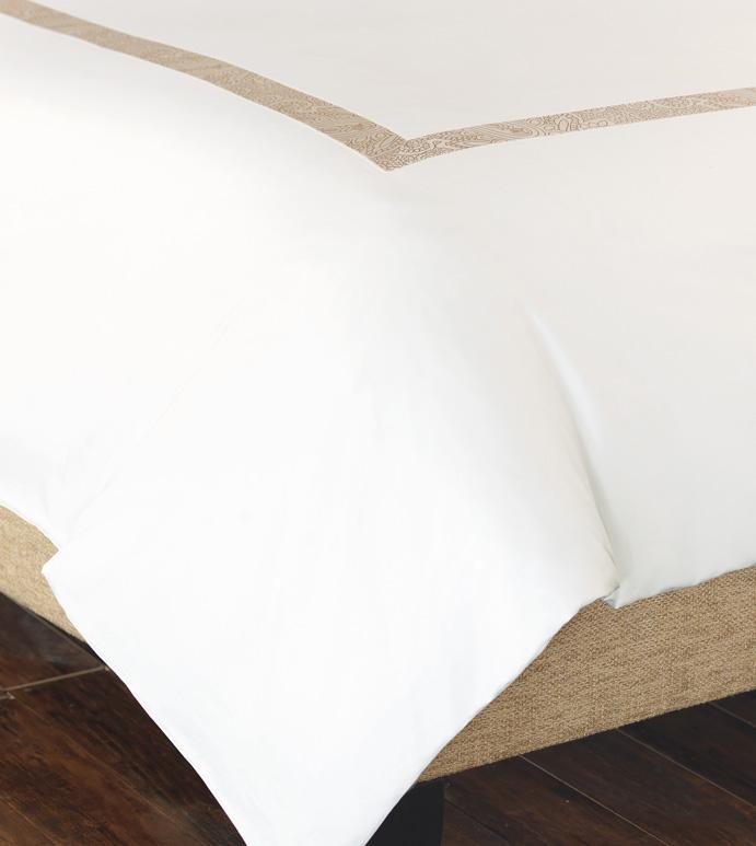 Cornice White/Pearl Duvet - ,