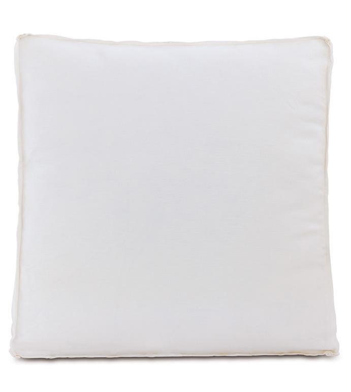 Leonara White Euro Sham - ,