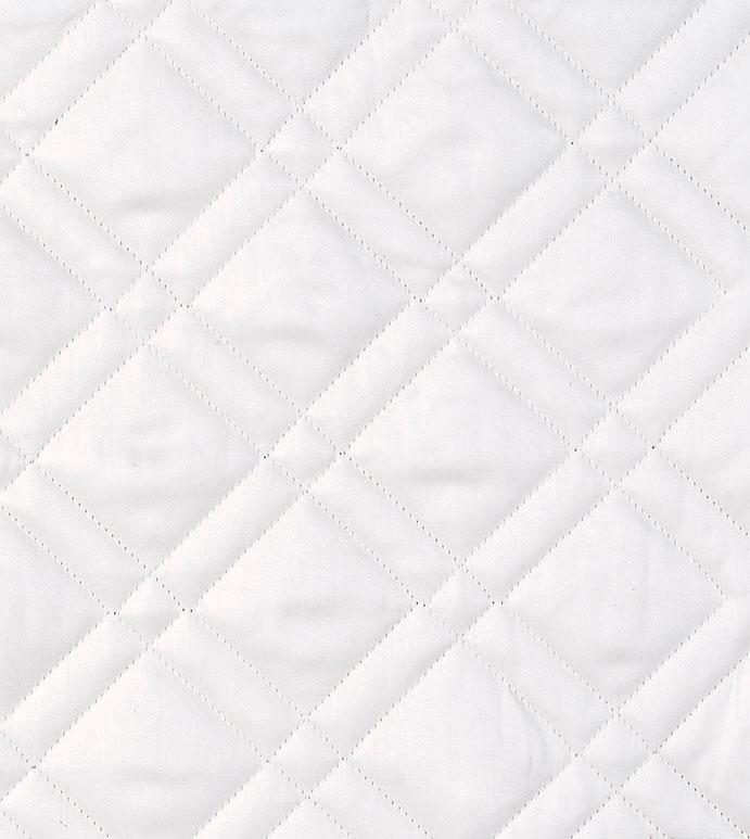 Coperta White - COVERLET, EURO SHAM, STANDARD SHAM, KING SHAM, BOUDOIR, GRAND SHAMS