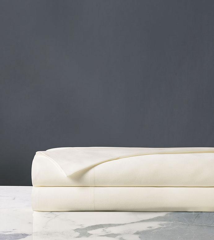 Fresco Classic Ivory Flat Sheet