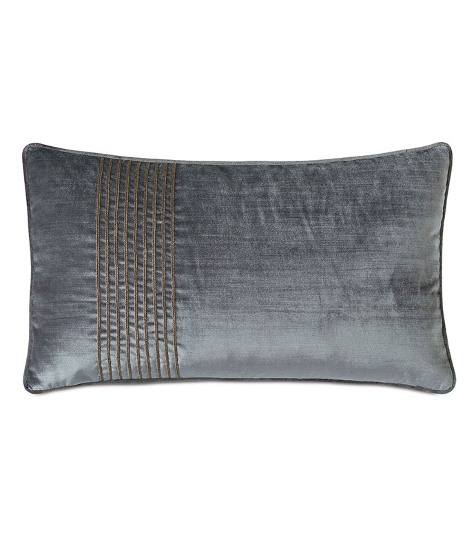 Indochine Trim Stripe Decorative Pillow