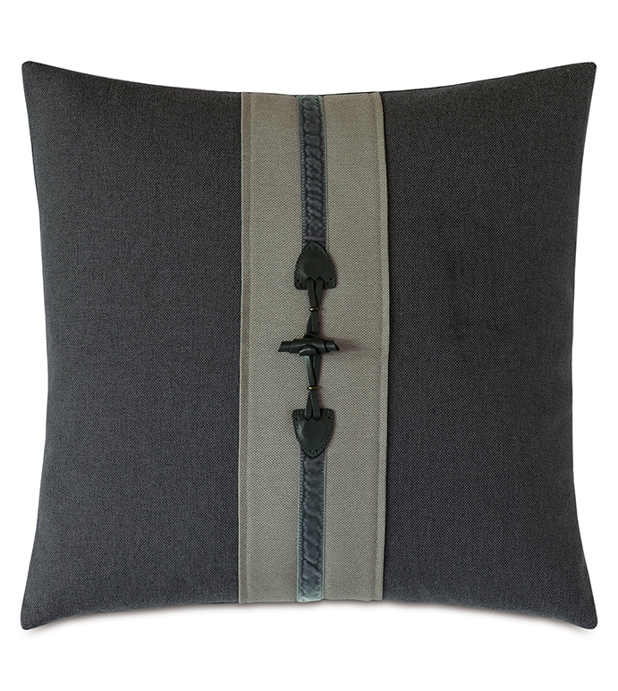 Kilbourn Buckle Decorative Pillow