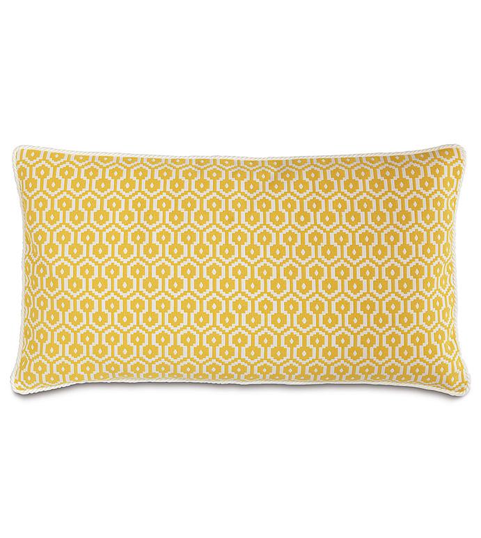 Zuni Lemon King Sham - ,