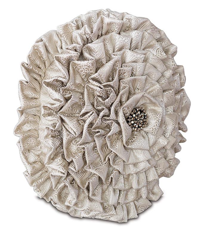 Belrose Ivory Tambourine - ,