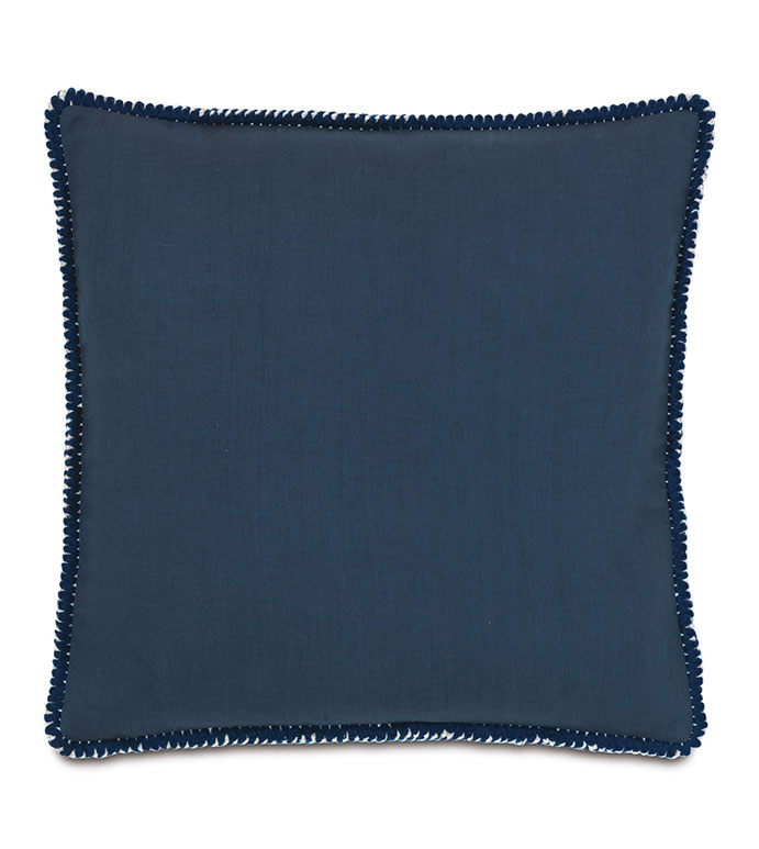 Breeze Indigo With Loop Fringe