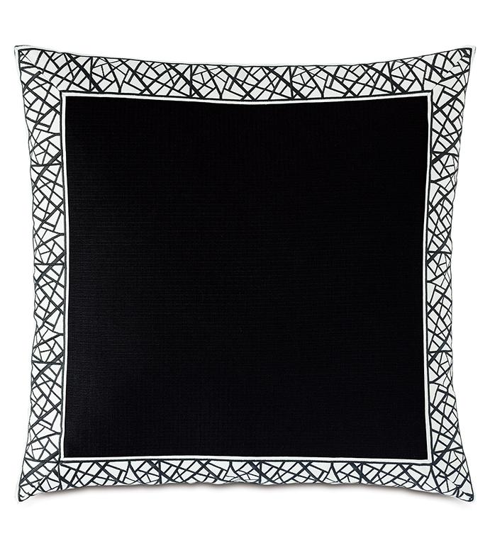 Maddox Mitered Border Decorative Pillow