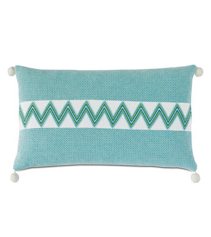 Namale Ball Trim Decorative Pillow