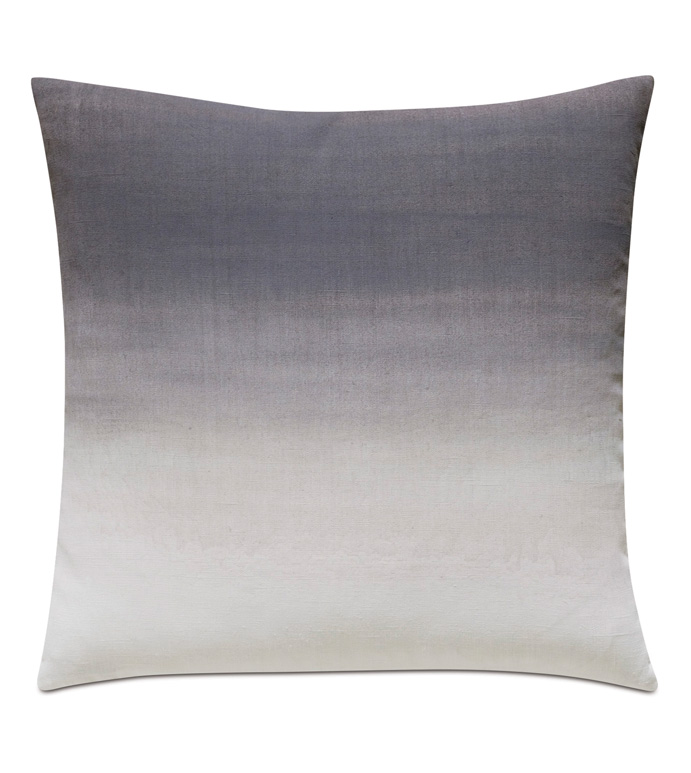 Naomi Ombre Hand Painted Accent Pillow In Purple - ACCENT PILLOW,THROW PILLOW,ACCENT PILLOW,EASTERN ACCENTS,PURPLE,GLAM,100% LINEN,OMBRE,HAND PAINTED,