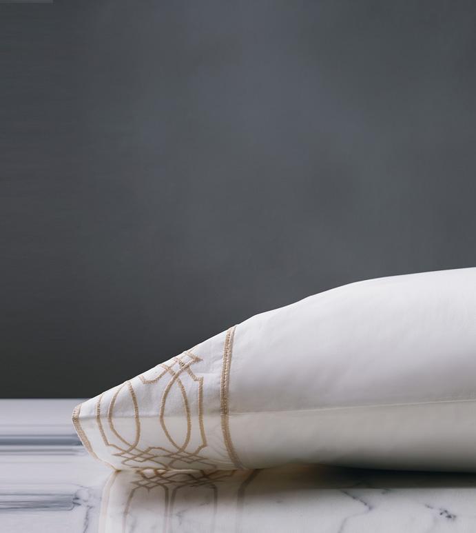 Nicola Wheat Pillowcase