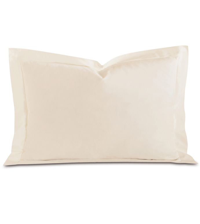 Fresco Luxe Ecru Queen Sham - ,