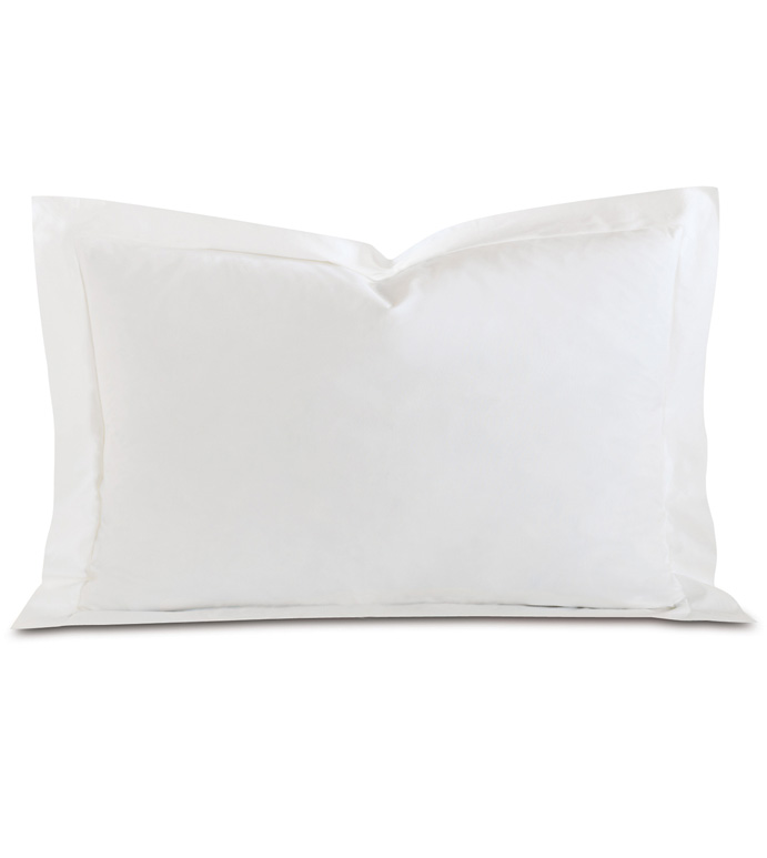 Fresco Luxe White Queen Sham - ,