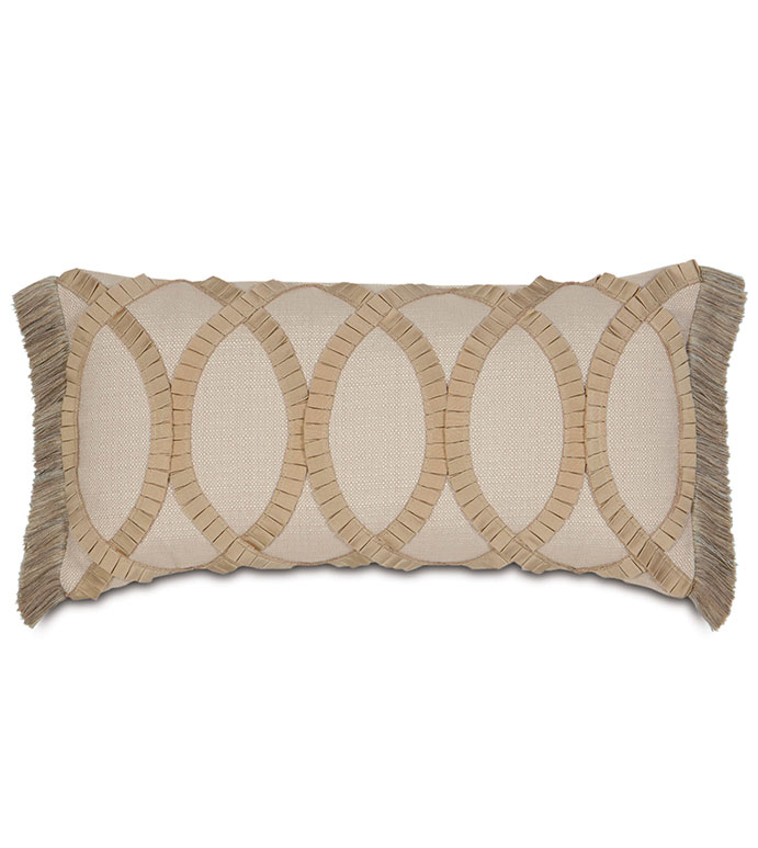Vivo Bisque With Pleated Ribbon - ,