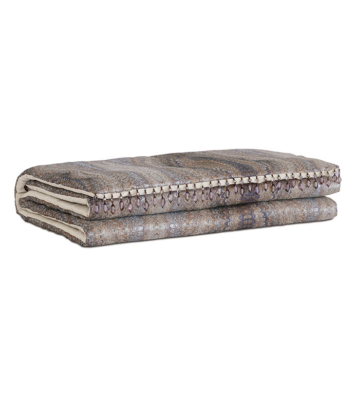 Imogen Metal Bed Scarf - ,