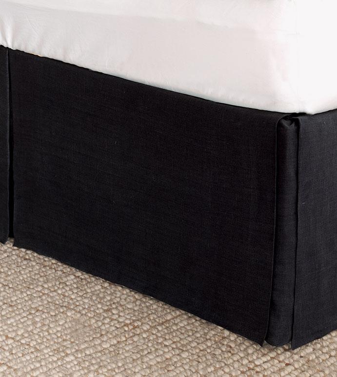 Resort Black Bed Skirt - ,
