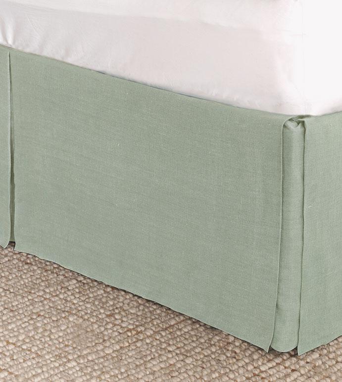 Resort Mint Bed Skirt - ,