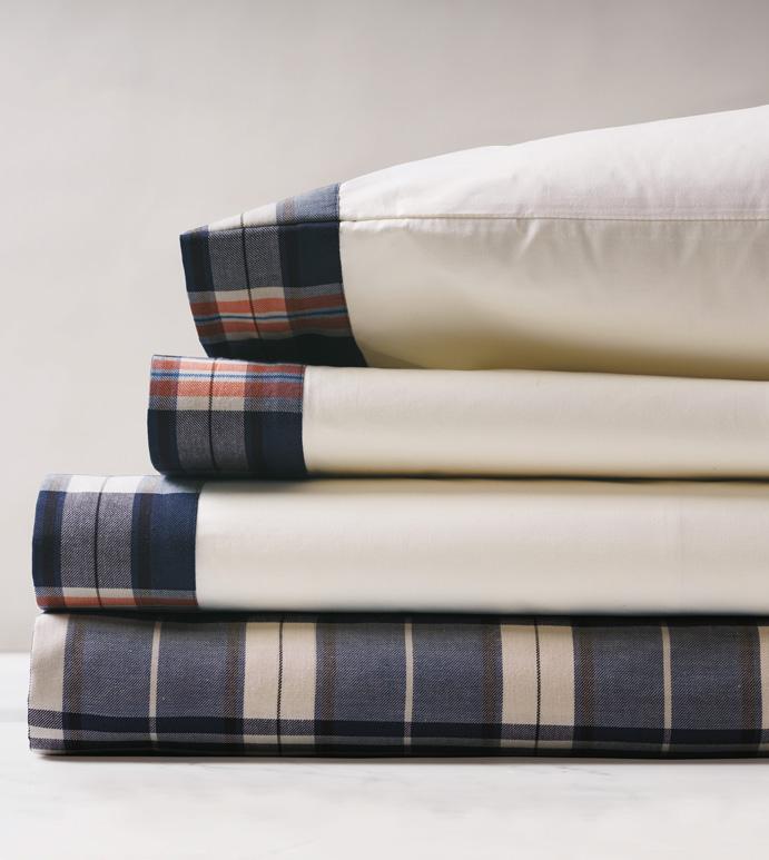 Scout Sheet Set - sheets,juvenile sheet set,sheeting,fine linens,bedding,luxury sheets,high-end sheets,high-quality sheets,200 thread count sheets,percale sheets,masculine sheets,male sheets