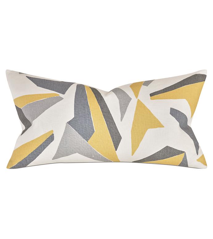 Sconset Lemon Decorative Pillow - ,