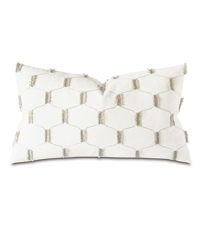 Chilmark Fil Coupe Decorative Pillow