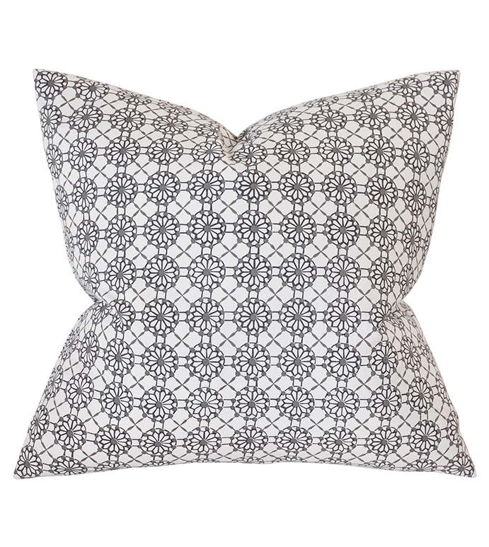 Sconset Lemon Decorative Pillow - ,