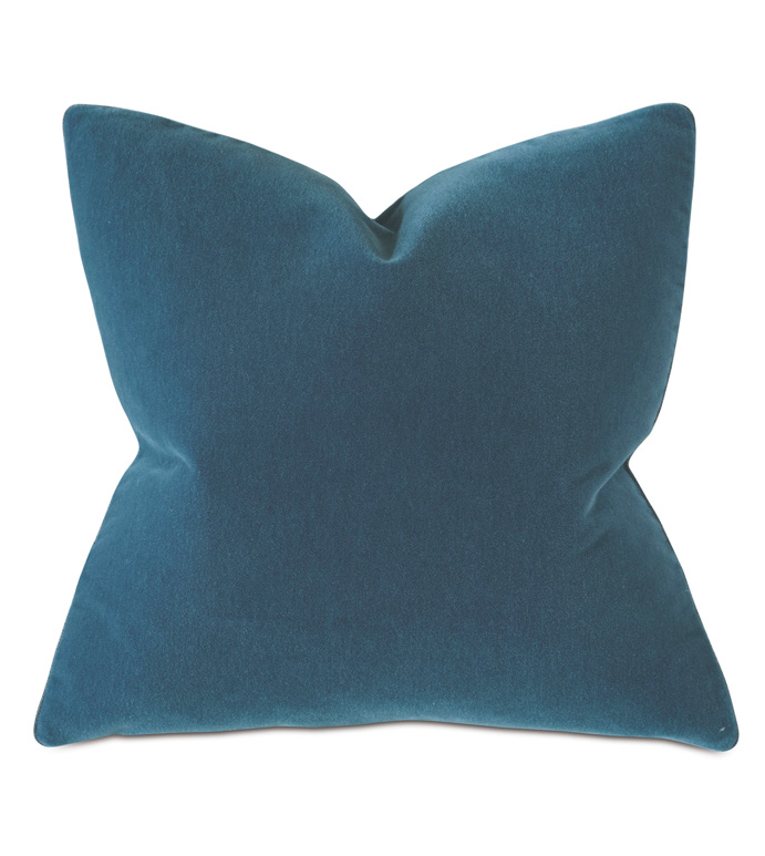 Bach Mohair Decorative Pillow In Colonial - THOM FILICIA,DESIGNER,THROW PILLOW,PILLOW,DECORATIVE PILLOW,ACCENT PILLOW,MOHAIR,TWEED,HERRINGBONE,GRAY,BLUE,LUXURY,INTERIOR DESIGN,SQUARE,LARGE