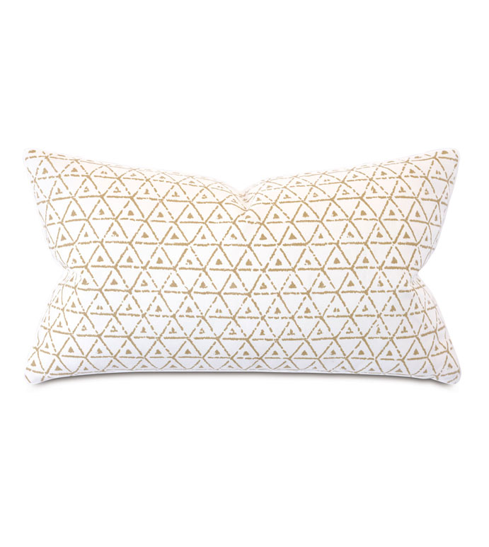 Wellfleet Geometric Decorative Pillow
