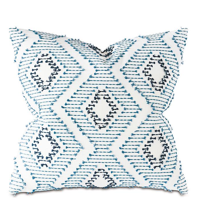 Bridgehampton Fil Coupe Decorative Pillow