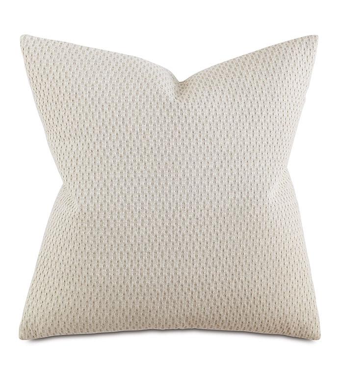 Custer Linen Decorative Pillow - PILLOW,MATELASSE PILLOW,SQUARE PILLOW,TOSS CUSHION,THROW PILLOW,ACCENT PILLOW,WOVEN COVERED PILLOW,KNIFE EDGE TRIM FINISHING PILLOW,DECORATIVE PILLOW,LINEN PILLOW,UNISEX PILLOW