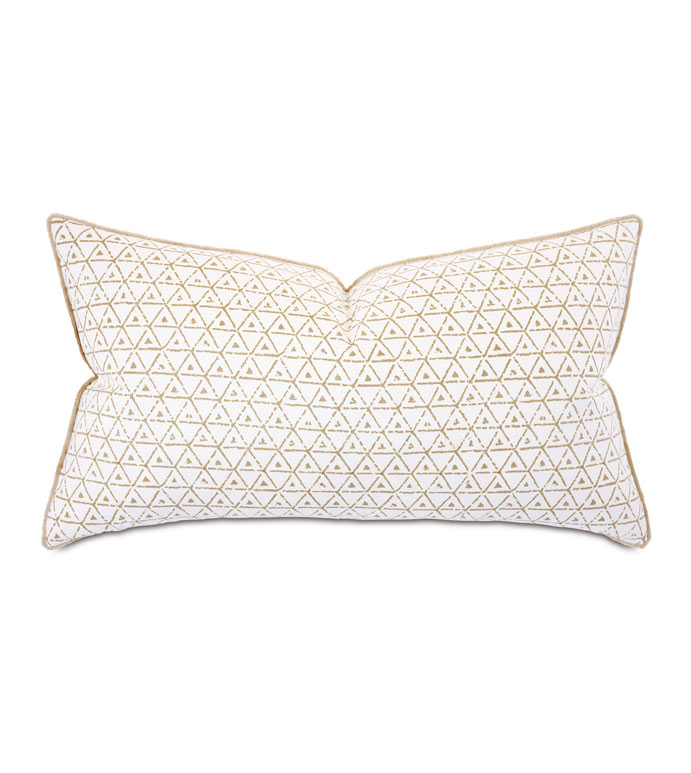 Wellfleet Geometric King Sham