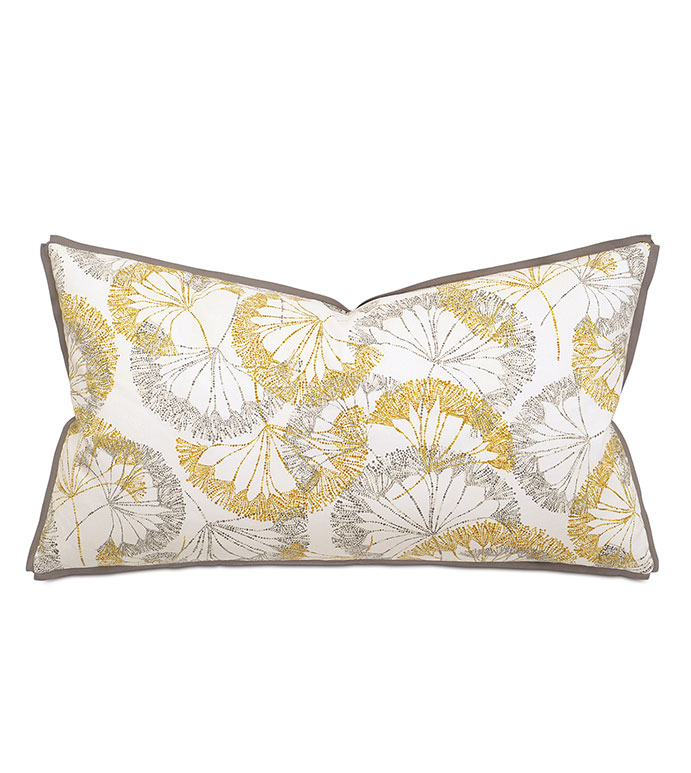 Bolina Saffron King Sham - PILLOW,THROW PILLOW,CONTEMPORARY PILLOW,RECTANGLE PILLOW,DECORATIVE PILLOW,KING SHAM PILLOW,KING SHAM ACCENT PILLOW,FEATHER PILLOW,ZIPPER CLOSURE PILLOW,GEO PILLOW COVER